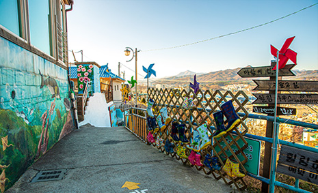 Discover a village full of murals